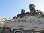 Tian Tan Buddha, or ''Big Buddha'' located on Lantau Island in Hong Kong