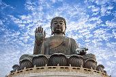 Travel Hong Kong island Tian Tan Buddha
