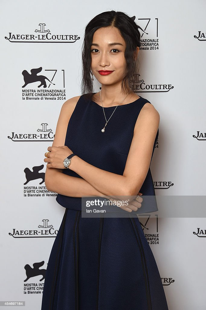 Tian Yuan of 'Huang jin shi dai' wearing a JaegerLeCoultre watch poses for a portrait for JaegerLeCoultre in their festival lounge during the 71st...