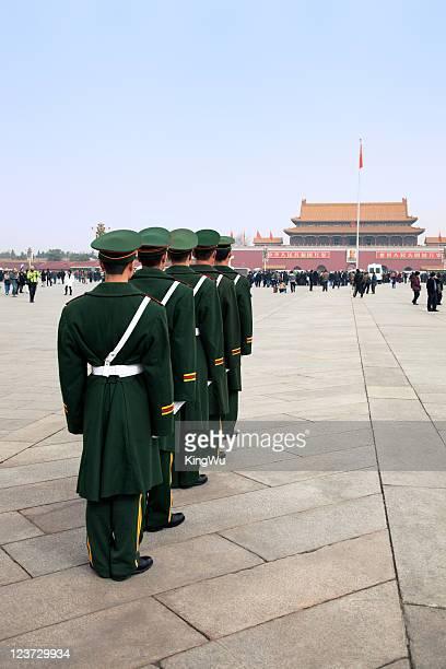 Police de la place Tiananmen