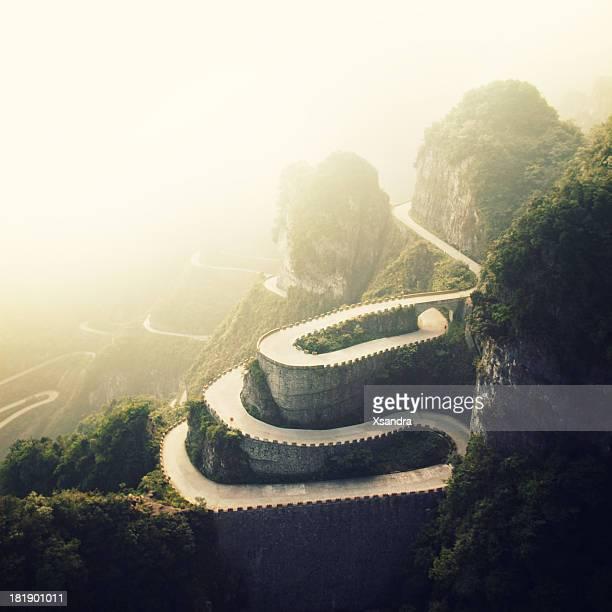 Tianmenshan Landschaften
