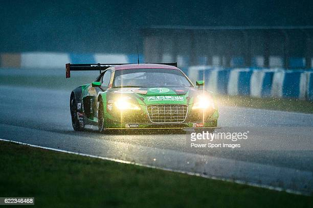 TianShi Racing Team #66 Audi R8 Ultra GT3 driven by Peng Liu Wiser Massimilano and Christopher Haase in action during Asian LMS Qualifying of the...