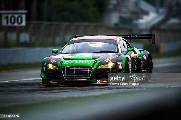 TianShi Racing Team #66 Audi R8 Ultra GT3 driven by Peng Liu Wiser Massimilano and Christopher Haase in action during the Free Practice 2 of the...