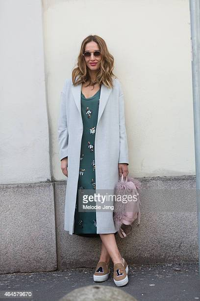 Tiany Kiriloff on February 26 2015 in Milan Italy
