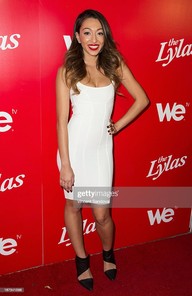 Tiara Hernandez of The Lylas attends WE tv's premiere party for 'The LYLAS' at Warwick on November 7, 2013 in Hollywood, California.