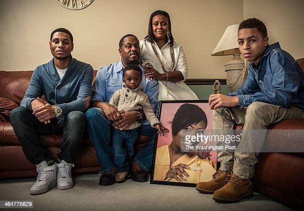 Tiara's surviving family from left Chase Martin Levi Martin Princeton JacksonMartin Kimberly JacksonMartin and Chandler Martin 15 Tiara Jackson was...