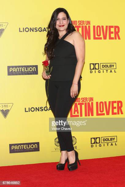 Tiare Scanda attends the 'How To Be A Latin Lover' Mexico City premiere at Teatro Metropolitan on May 3 2017 in Mexico City Mexico