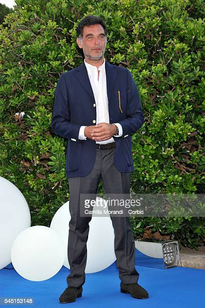 Tiberio Timperi at the Rai Show Schedule on July 5 2016 in Rome Italy