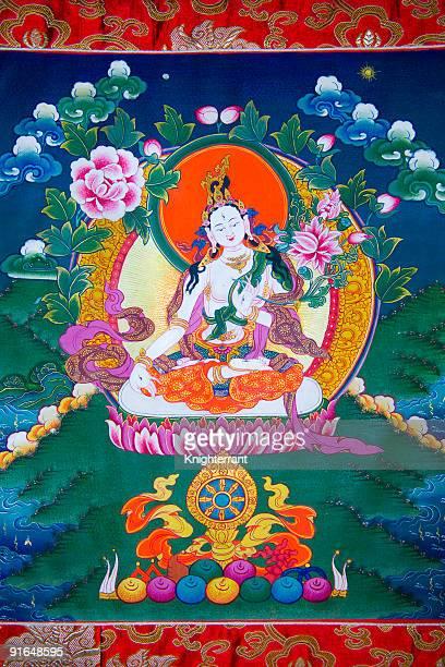 El Tíbet Thangka