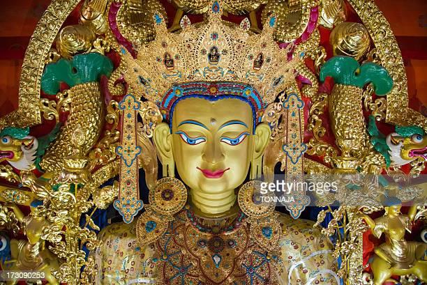 Tibetan bodhisattva statue