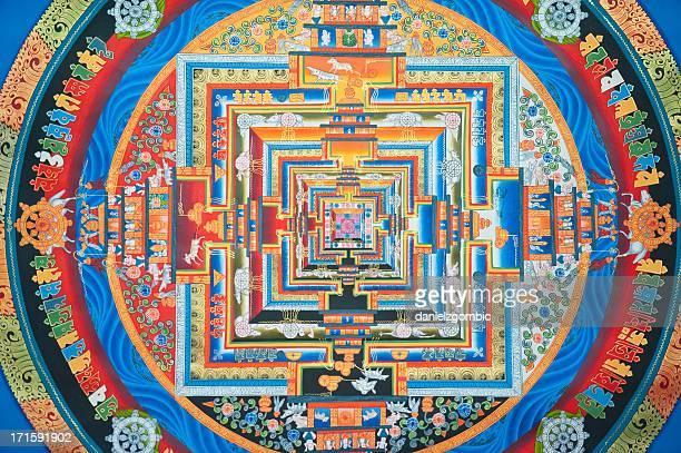 Tibetan Kalachakra Mandala