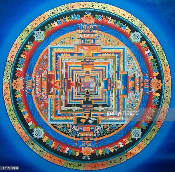 Tibetano Kalachakra Mandala