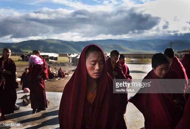 Tibetan Nuns.