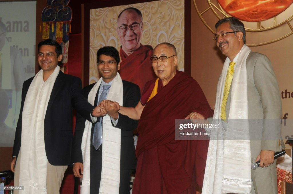 Tibetan Spiritual Leader Dalai Lama Talks On Revival Of Ancient Knowledge At An ICC Event