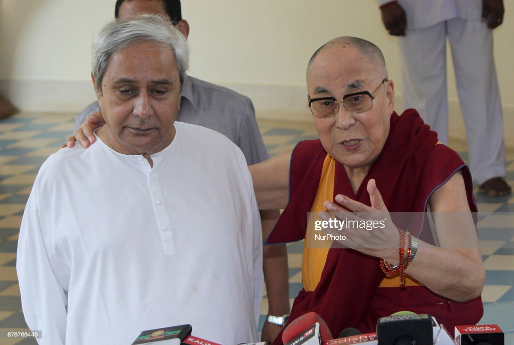 Tibetan Spiritual Leader Dalai Lama In India