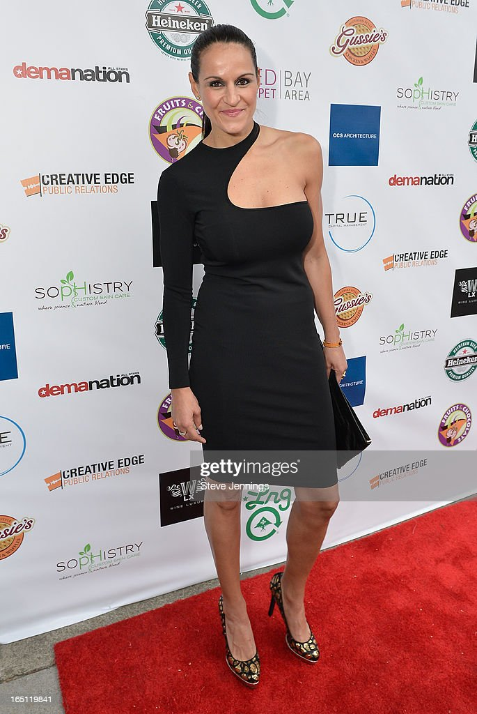 Ticha Penicheiro attends the 6th Annual 'Where Hip Hop Meets Couture' Fashion Show at Dog Patch Wine Works on March 30, 2013 in San Francisco, California.
