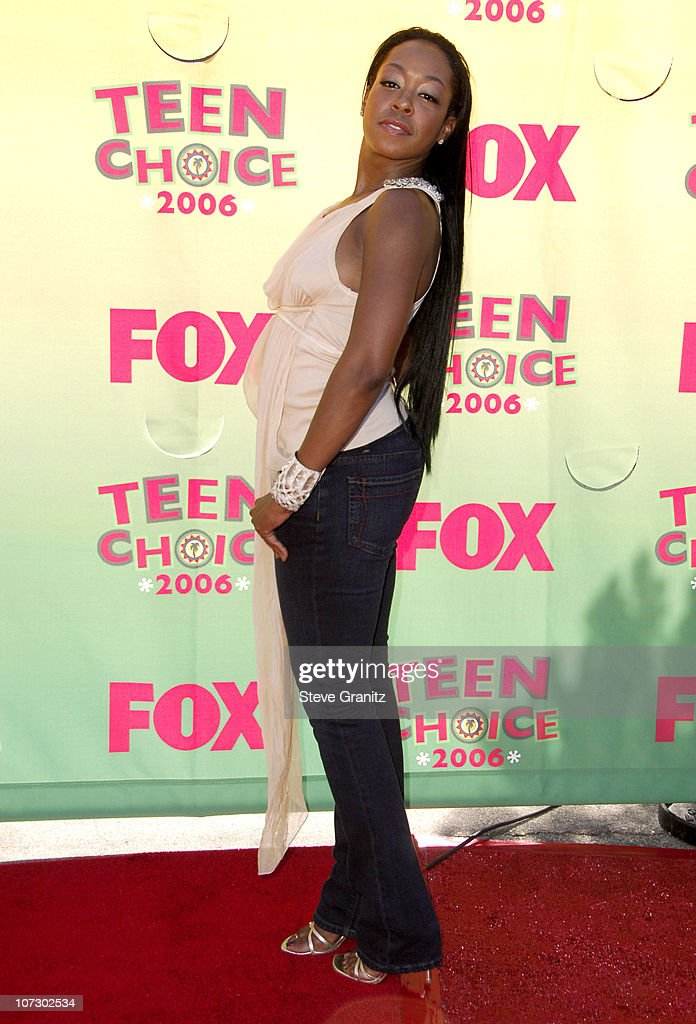 Tichina Arnold during 2006 Teen Choice Awards - Arrivals at Gibson Amphitheatre in Universal City, California, United States.