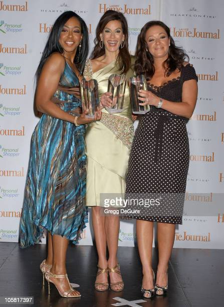 Tichina Arnold Teri Hatcher and Leah Remini during Third Annual 'Funny Ladies We Love' Awards Hosted By Ladies' Home Journal at Cabana Club in...