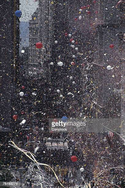 Ticker tape parade , New York City