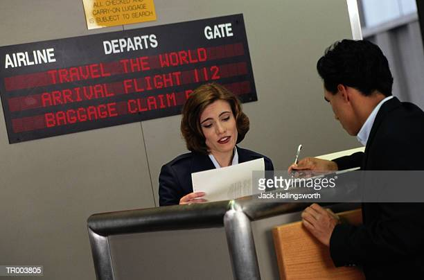 Ticket Agent at the Gate