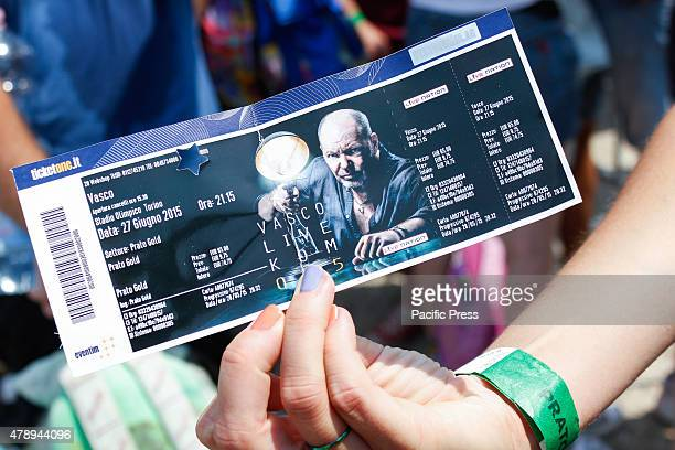 Ticket concert Vasco Rossi 'Live Kom 2015' Vasco Rossi also known as Vasco or with the nickname Il Blasco is an Italian singersongwriter