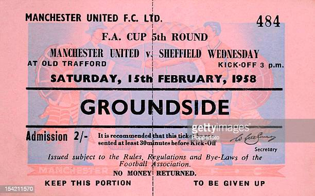 A ticket for the FA Cup 5th round match between Manchester United and Sheffield Wednesday scheduled to be played at Old Trafford in Manchester on the...