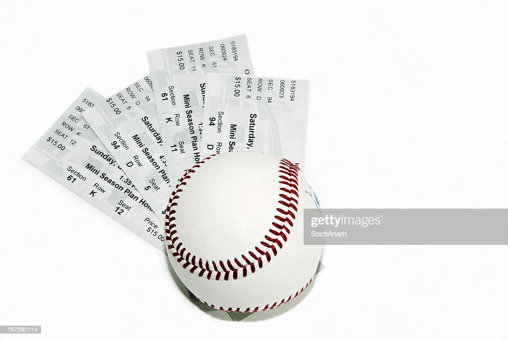 Ticket Series - Baseball : Stock Photo