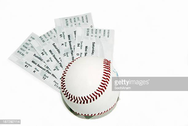 Ticket Serie-Baseball-Spieler
