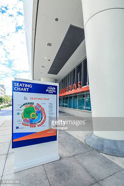 Tickets Sales Booth at Marlins Park