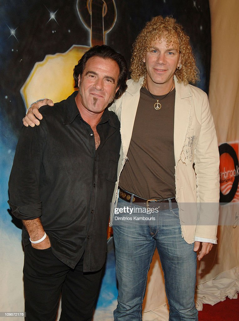 Tico Torres and David Bryan of Bon Jovi during LIVE 8 Philadelphia Will Smith Celebrates LIVE 8 With a PreLaunch Party at 23rd Street Armory in...