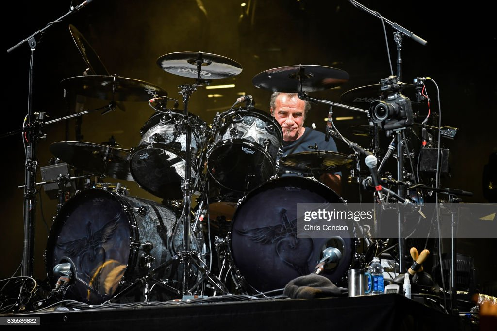 Tico Torres of Bon Jovi performs after the first round of the PGA TOUR Champions DICK'S Sporting Goods Open at En-Joie Golf Course on August 18, 2017 in Endicott, New York.