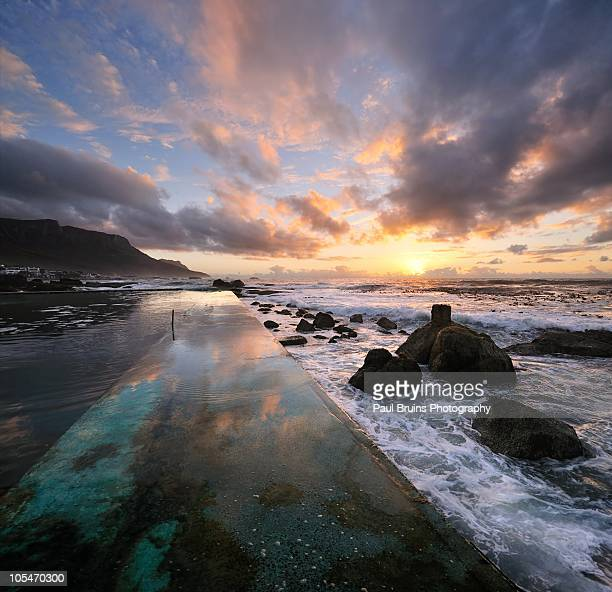 Tidal Pool Sunset