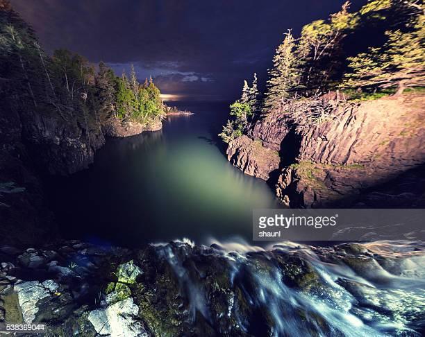 Tidal Waterfall