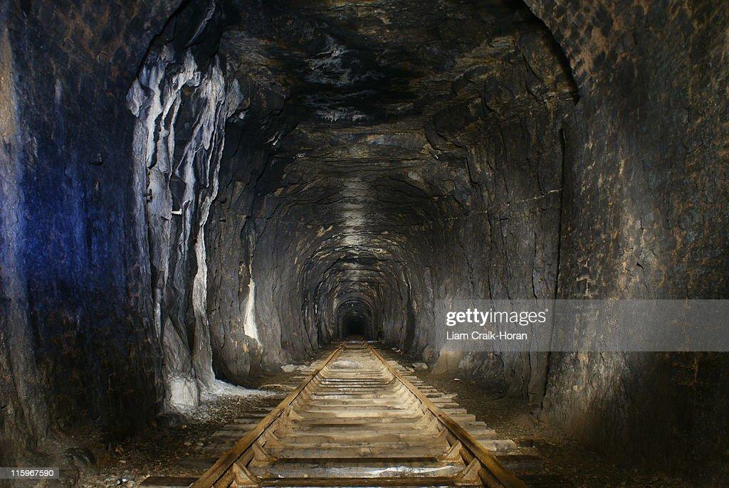 Tidenham Tunnel. : Stock Photo