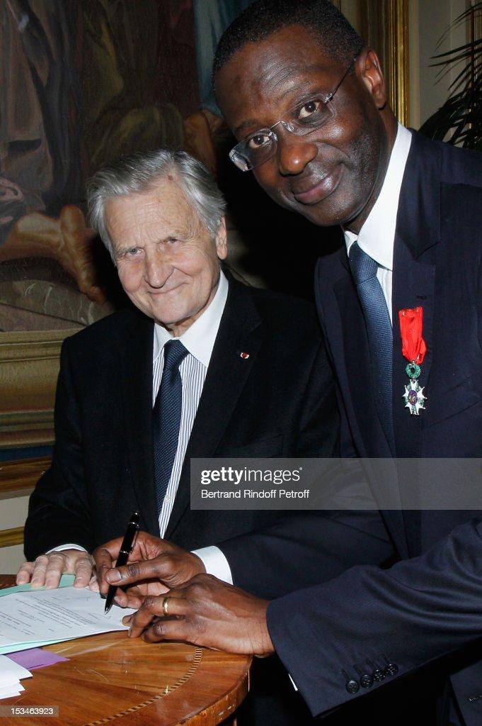 African Tennis Confederation President Tarak Charif Receives Legion D'Honneur