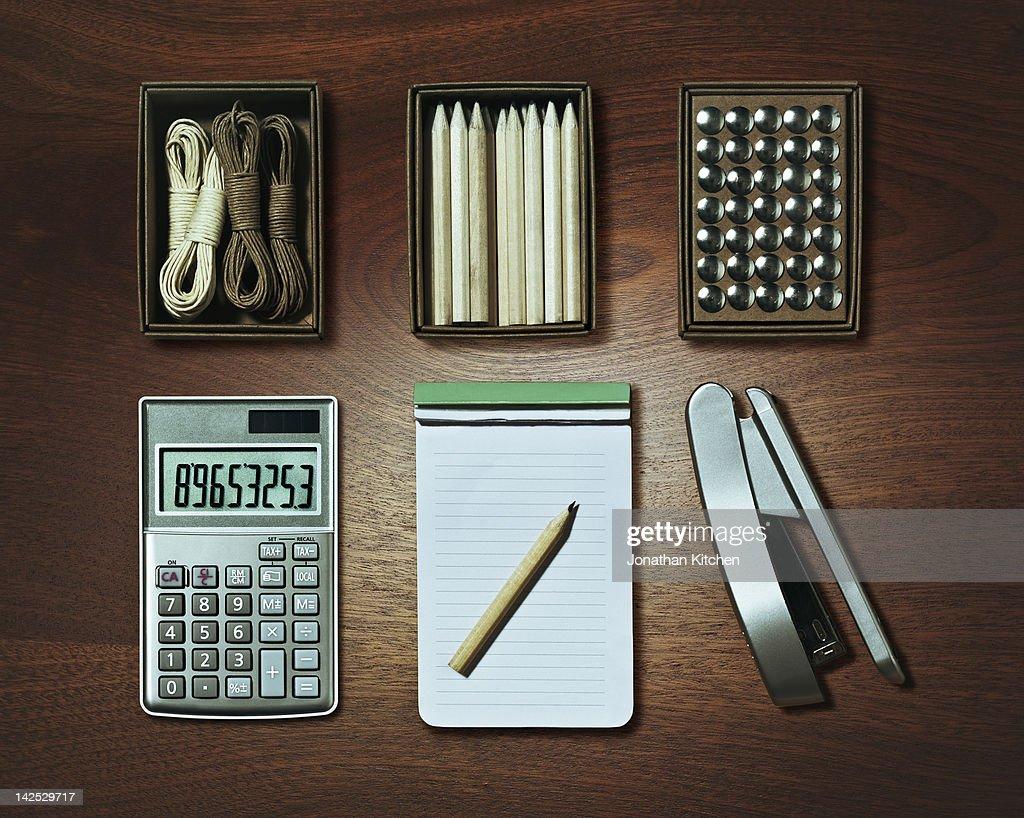 Tidy Desk : Stock Photo