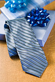 Tie with gift boxes