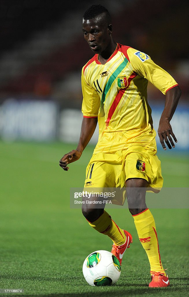 Tiecoro Keita of Mali in action during the FIFA U20 World Cup Group D match between Paraguay and Mali at Kamil Ocak Stadium on June 22, 2013 in Gaziantep, Turkey.