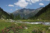 Tiefental Valley, Austria, Tirol, Kaunergrat