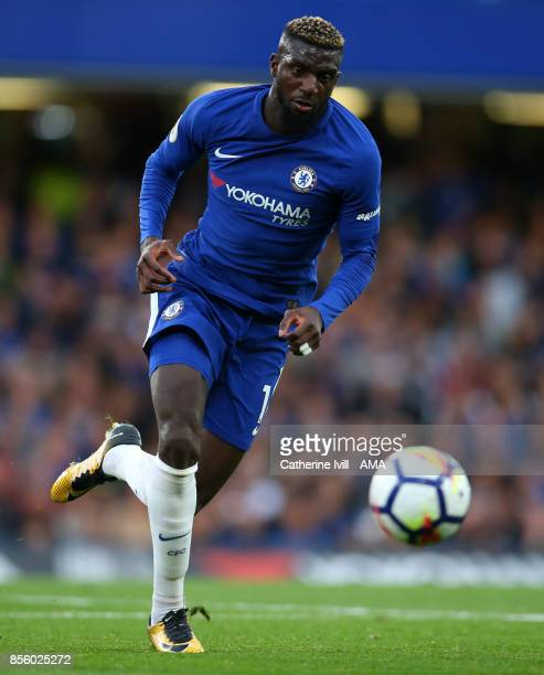 Tiemoue Bakayoko of Chelsea during the Premier League match between Chelsea and Manchester City at Stamford Bridge on September 30 2017 in London...