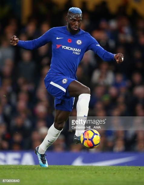 Tiemoue Bakayoko of Chelsea during the Premier League match between Chelsea and Manchester United at Stamford Bridge on November 5 2017 in London...