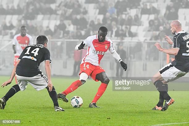 Tiemoue Bakayoko of Monaco during the French Ligue 1 match between Bordeaux and Monaco at Nouveau Stade de Bordeaux on December 10 2016 in Bordeaux...