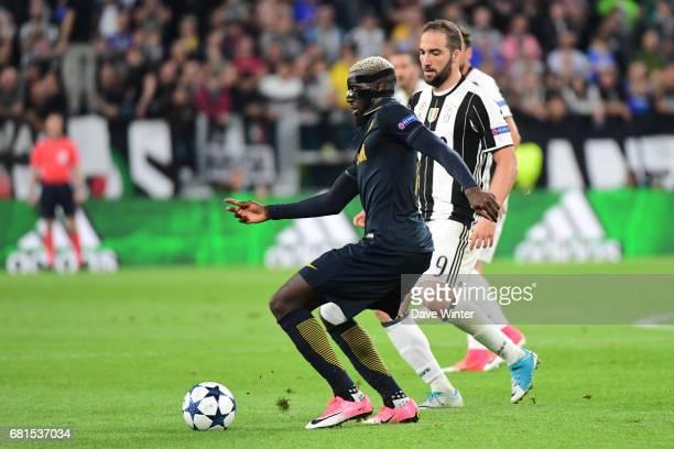 Tiemoue Bakayoko of Monaco during the Uefa Champions League match semi final second leg between Juventus FC and As Monaco at Juventus Stadium on May...