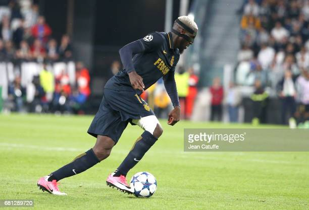 Tiemoue Bakayoko of Monaco during the UEFA Champions League semi final second leg match between Juventus Turin and AS Monaco at Juventus Stadium on...