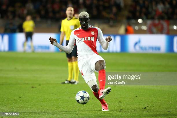 Tiemoue Bakayoko of Monaco in action during the UEFA Champions League semi final first leg match between AS Monaco and Juventus Turin at Stade Louis...
