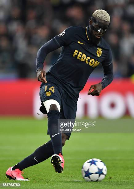 Tiemoue Bakayoko of Monaco in action during the UEFA Champions League Semi Final second leg match between Juventus and AS Monaco at Juventus Stadium...