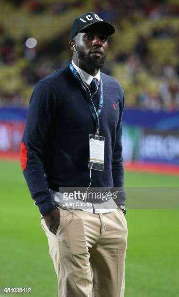 Tiemoue Bakayoko of Monaco looks on before the UEFA Champions League Round of 16 second leg match between AS Monaco and Manchester City FC at Stade...