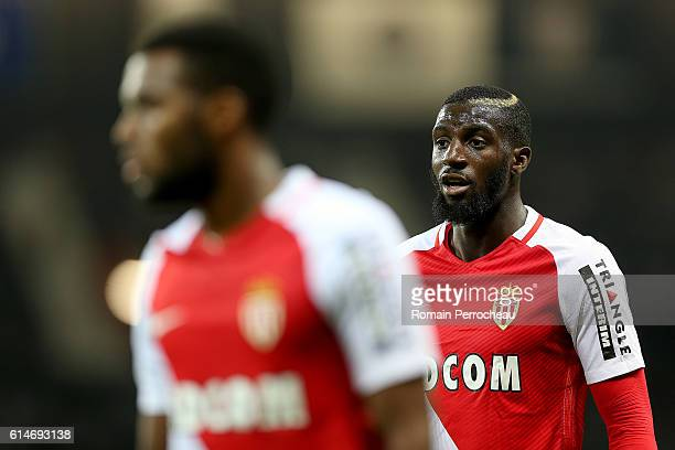 Tiemoue Bakayoko of Monaco looks on during the French Ligue 1 match between Toulouse and Monaco at Stadium on October 14 2016 in Toulouse France