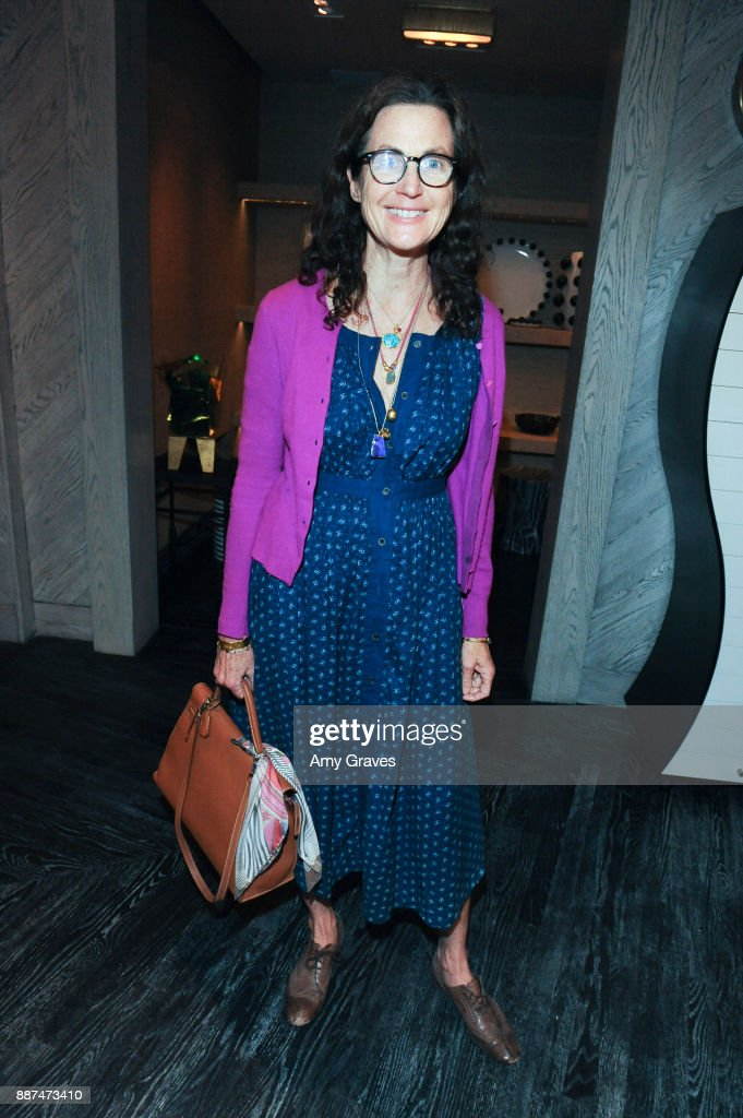 Tierney Gearon attends Kelly Wearstler hosts 'The Authentics' book signing launch party for Melanie Acevedo and Dara Caponigro at Kelly Wearstler Boutique on December 6, 2017 in West Hollywood, California.
