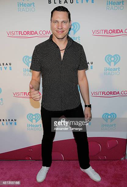 Tiesto arrives at iHeartRadio Ultimate Pool Party Presented By VISIT FLORIDA At Fontainebleau's BleauLive at Fontainebleau Miami Beach on June 27...